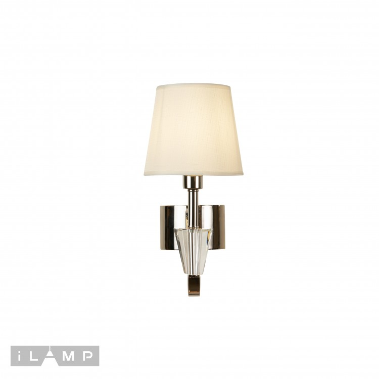 Бра iLamp Alesti W2424-1 Nickel